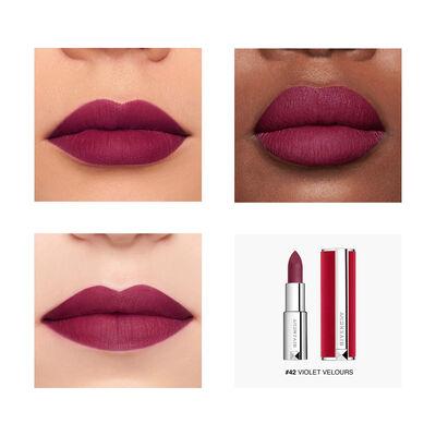 Le Rouge Deep Velvet - Matité Poudrée Haute Pigmentation GIVENCHY - Violet Velours - P083576