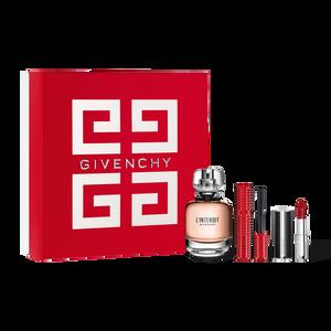 View 1 - L'INTERDIT ICONIC SET WITH LE ROUGE CLASSIC - Eau de Parfum Mother's Day Gift Set GIVENCHY - 50 ML - P169103