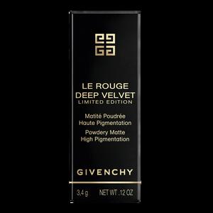 View 6 - LE ROUGE DEEP VELVET - HOLIDAY COLLECTION - Powdery matte high pigmentation GIVENCHY - Rouge Grainé - P083579