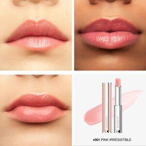 Vue 5 - ROSE PERFECTO - Le plus couture des baumes alliant soin et couleurs, qui révèle l'éclat naturel de vos lèvres GIVENCHY - Pink Irresistible - P083631