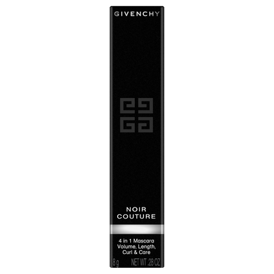 NOIR COUTURE GIVENCHY  - Black Satin - P082631