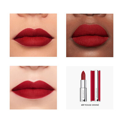 Le Rouge Deep Velvet - Powdery Matte High Pigmentation GIVENCHY - Rouge Grainé - P083575