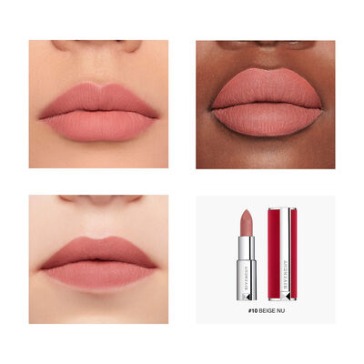 Le Rouge Deep Velvet - Powdery Matte High Pigmentation GIVENCHY - Beige Nu - P083571