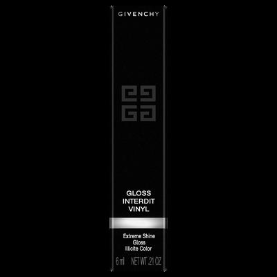 GLOSS INTERDIT VINYL GIVENCHY  - Noir Révélateur - P084702