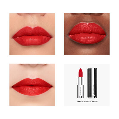 Le Rouge - Matité Lumineuse Haute Couvrance GIVENCHY - Carmin Escarpin - P083722