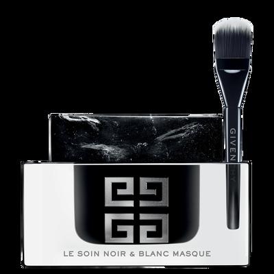 ソワン ノワール ブラン マスク - カリグラフィーから着想を得たブラック&ホワイト テクスチュアのスペシャルケア マスク。 GIVENCHY  - 75 ml - F30100036