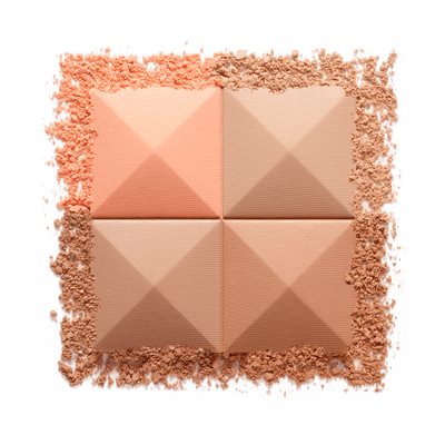 PRISME VISAGE - Silky Face Powder Quartet - Unifies, Highlights, Contours Naturally GIVENCHY - Soie Abricot - P090135