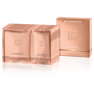 View 1 - L'INTEMPOREL Multi-Masking KiT - Global Youth Mask Duo, V-Shape Sheet Mask & Brightening Cream Mask GIVENCHY - 114 ML - P051913