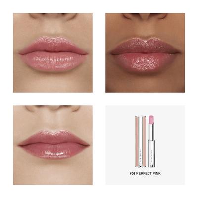 LE ROUGE PERFECTO - Baume Embelliseur de Lèvres Couleur sur Mesure GIVENCHY  - Perfect Pink - P084521