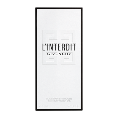 L'INTERDIT - Shower Oil GIVENCHY  - P069003