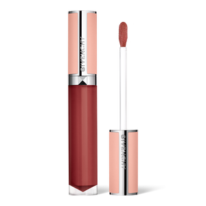 View 1 - LE ROSE PERFECTO LIQUID LIP BALM GIVENCHY - Woody Red - P083536