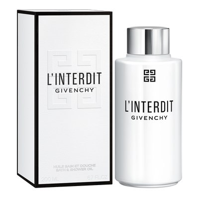 L'INTERDIT - Shower Oil GIVENCHY - 200 ML - P069003