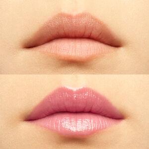 Vue 5 - ROSE PERFECTO - Le plus couture des baumes alliant soin et couleurs, qui révèle l'éclat naturel de vos lèvres GIVENCHY - Milky Pink - P083636