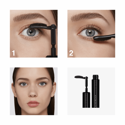NOIR INTERDIT - Lash extension effect mascara GIVENCHY  - Black Vinyl - P072021
