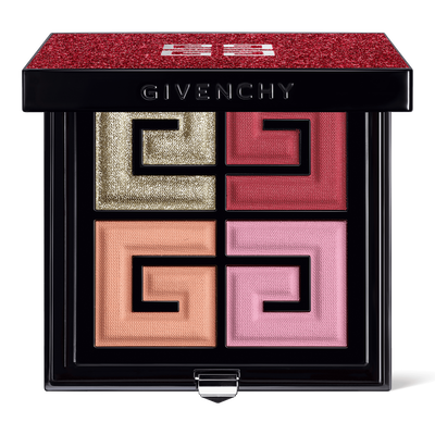 Red Lights - 4 COLORS FACE & EYES PALETTE GIVENCHY - RED LIGHTS - F20100098