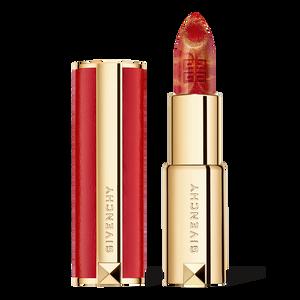 Vue 1 - LE ROUGE - Teinte marbrée rouge et dorée GIVENCHY - Golden Red - P183339