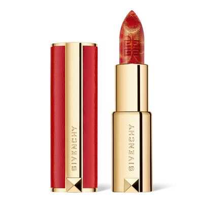 LE ROUGE - Red and gold marble shade GIVENCHY - Golden Red - P183339