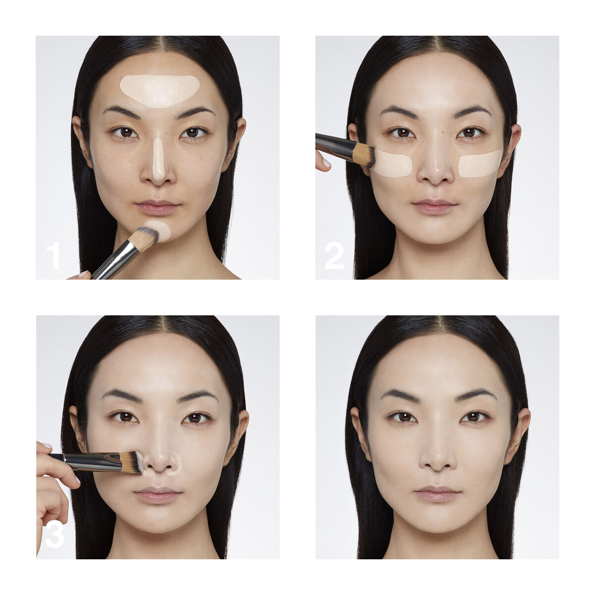 How to apply TEINT COUTURE EVERWEAR - 24H WEAR lifeproof foundation GIVENCHY - P080561