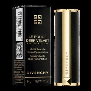 View 5 - LE ROUGE DEEP VELVET - HOLIDAY COLLECTION - Powdery matte high pigmentation GIVENCHY - Rouge Grainé - P083579