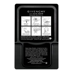 View 5 - LE SOIN NOIR - MASCHERA PER IL VISO IN PIZZO GIVENCHY - 4 X 18ML - P050112