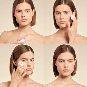 Vue 5 - PRISME LIBRE BLUSH - Le premier blush poudre libre 4 couleurs GIVENCHY - Mousseline Lilas - P090751