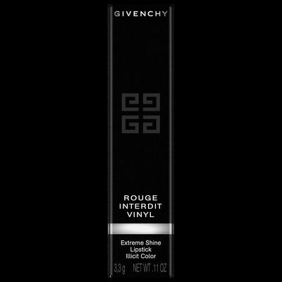 ROUGE INTERDIT VINYL - Extreme Shine Lipstick GIVENCHY  - Noir Révélateur - P086016