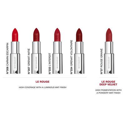 Le Rouge - Matité lumineuse haute couvrance GIVENCHY - L'interdit - P184599