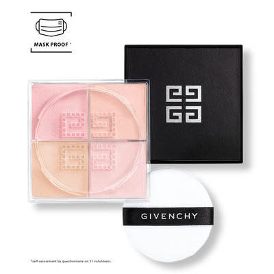 Prisme Libre - Mat-finish & Enhanced Radiance Loose Powder 4 in 1 Harmony GIVENCHY - Voile Rosé - P090457